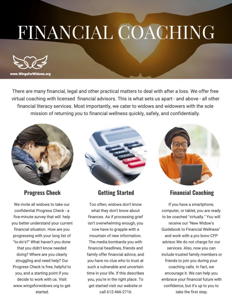Flyer: Financial Coaching